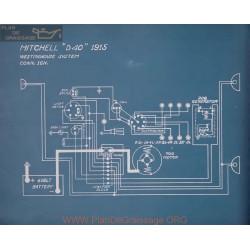 Mitchell D40 Schema Electrique 1915