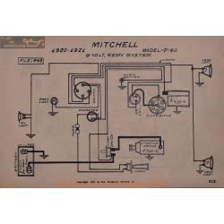 Mitchell F40 6volt Schema Electrique 1920 1921 Remy