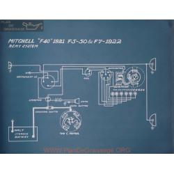 Mitchell F5 50 F7 Schema Electrique 1922