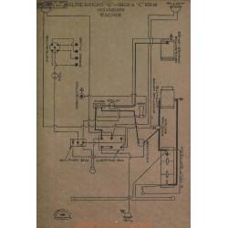 Moline Knight G Mk30 Mk40 Schema Electrique 1917 1918 1919 Wagner