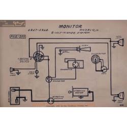 Monitor C N 6volt Schema Electrique 1917 1918 Hienze V2