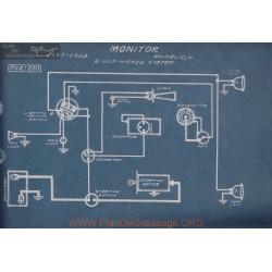 Monitor C N 6volt Schema Electrique 1917 1918 Hienze