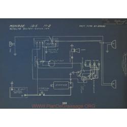 Monroe M2 Schema Electrique 1915 Autolite