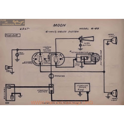 Moon 6 43 6volt Schema Electrique 1917 Delco V2