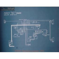 Nash 41 Schema Electrique 1928