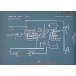 Nash 671 Schema Electrique 1917 V2