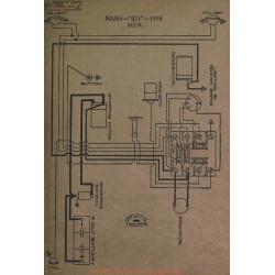 Nash 671 Schema Electrique 1918 Bijur