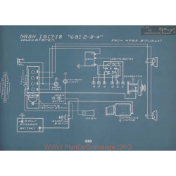 Nash 681 682 683 684 Schema Electrique 1917 1918 V2