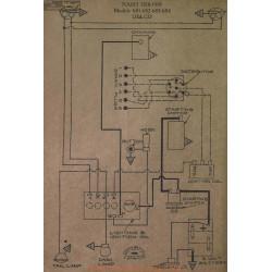 Nash 681 682 683 684 Schema Electrique 1918 1919 Delco
