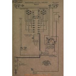 National 12cyl Schema Electrique 1918 1919 Bijur