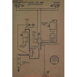 National 6 Schema Electrique 1918 Westinghouse