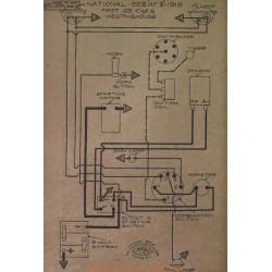 National Af3 125 Schema Electrique 1919 Westinghouse