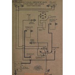 National Af3 First 125 Cars Schema Electrique 1919 Westinghouse
