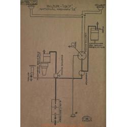 National Highway 12 Schema Electrique 1917 Bijur