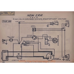 New Era 6volt Schema Electrique 1915 Allis Chamers Atwater Kent