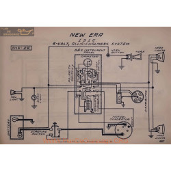 New Era 6volt Schema Electrique 1916 Allis Chalmers
