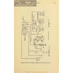 Oakland 34 Schema Electrique 1917 Delco V2