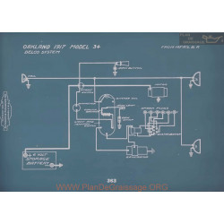 Oakland 34 Schema Electrique 1917 V2