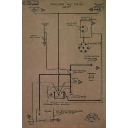 Oakland 34b Schema Electrique 1918 1919 Remy