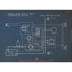 Oakland 35 Schema Electrique 1913 Westinghouse
