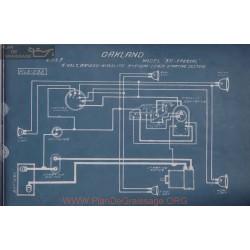 Oakland 35 Special 6volt Schema Electrique 1913 Briggs Maglite Deaco