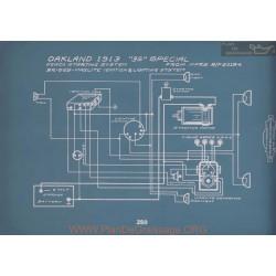 Oakland 35 Special Schema Electrique 1913 V2