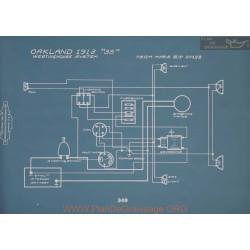 Oakland 35 Westinghouse Schema Electrique 1913 V2