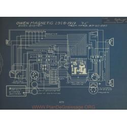 Owen Magnetic 4 2 Schema Electrique 1918 1919 Owen