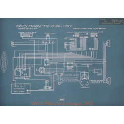 Owen Magnetic O 36 Schema Electrique 1917 V2