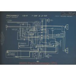 Packard 1 38 3 48 Schema Electrique 1914 Delco