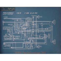 Packard 1 38 3 48 Schema Electrique 1914