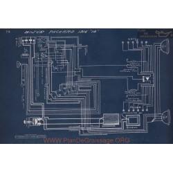 Packard 12 Schema Electrique 1916