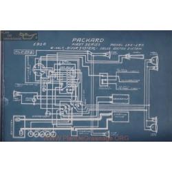 Packard 125 135 First 6volt Schema Electrique 1916 Bijur
