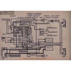 Packard 125 135 First Schema Electrique 1916 Bijur Delco
