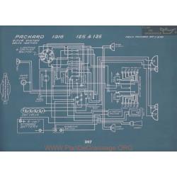 Packard 125 135 Schema Electrique 1916 V2