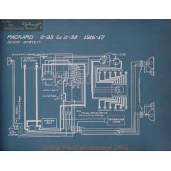 Packard 2 25 2 35 Schema Electrique 1916 1917