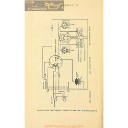 Packard 2 25 2 35 Schema Electrique 1917 Delco