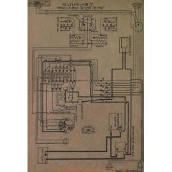 Packard 2 25 35 Schema Electrique 1917 Bijur