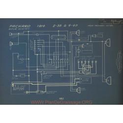 Packard 2 38 4 43 Schema Electrique 1914 Bijur