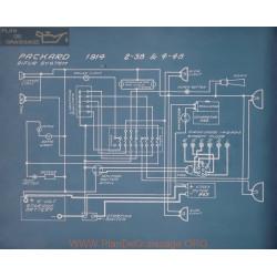 Packard 2 38 4 48 Schema Electrique 1914