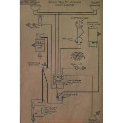 Paige 39 Schema Electrique 1918 1919 Gray & Davis