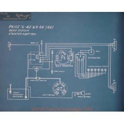 Paige 6 42 6 66 Schema Electrique 1921
