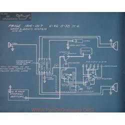 Paige 6 46 6 38 H6 Schema Electrique 1916 1917