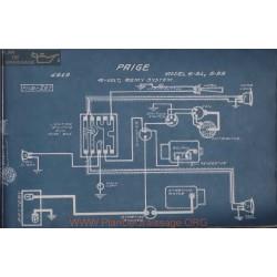 Paige 6 51 55 6volt Schema Electrique 1919 Remy