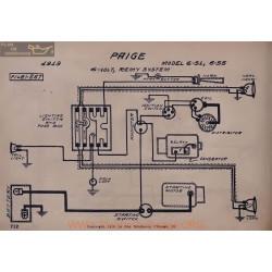 Paige 6 51 6 55 6volt Schema Electrique 1919 Remy