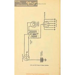 Paige 6 Schema Electrique 1916 1917 Remy
