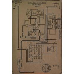Paige Detroit 6 38 Schema Electrique 1917
