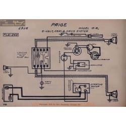 Paige G6 6volt Schema Electrique 1916 Gray & Davis V2