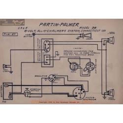 Partin Palmer 38 6volt Schema Electrique 1915 Allis Chalmers