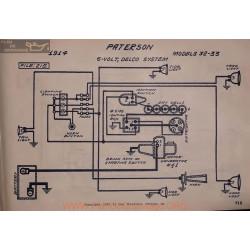Paterson 32 33 6volt Schema Electrique 1914 Delco V2